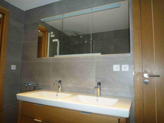 Salle de bain-WC-gris-bois